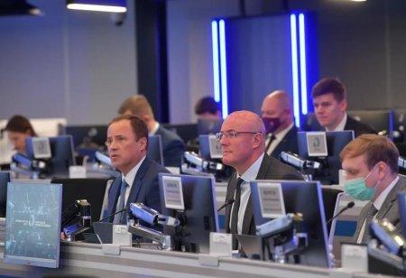 Дмитрий Чернышенко и Игорь Комаров с главами 4 субъектов ПФО отобрали проекты по социально-экономическому развитию
